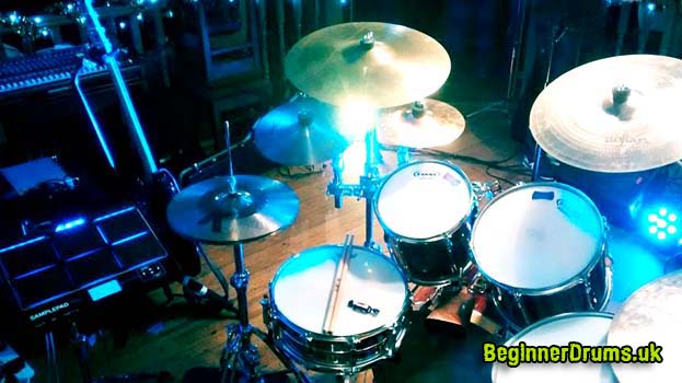 Electronic or Acoustic Drum Set