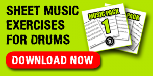 Drum Sheet Music Exercises